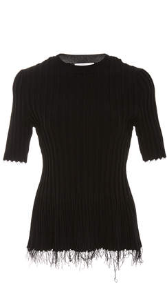 Altuzarra Novello Ribbed Knit Top