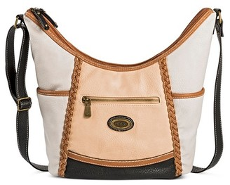Bolo Women's Faux Leather Crossbody Handbags - Grey $44.99 thestylecure.com