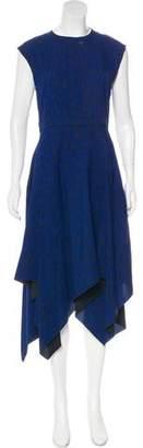 Proenza Schouler Asymmetrical Silk Dress