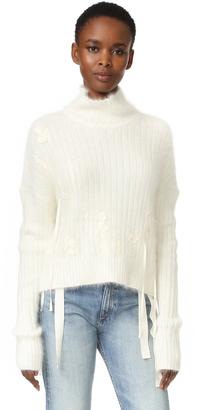 Helmut Lang Angora Sweater $745 thestylecure.com