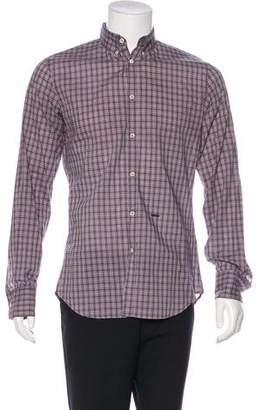DSQUARED2 Plaid Woven Shirt