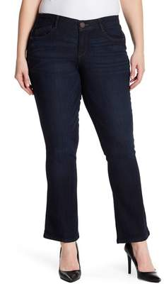 Democracy Itty Bitty Bootcut Jeans (Plus Size)