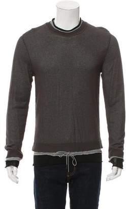 Dolce & Gabbana Layered Crew Neck Sweater