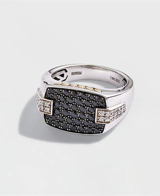 5ce79e66ae8f at Macy's · Effy Men Black Sapphire (1-1/3 ct. t.w.) & White