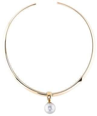 Sidney Garber 18K & Pearl Gloria Collar Necklace