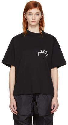 A-Cold-Wall* SSENSE Exclusive Black Logo T-Shirt