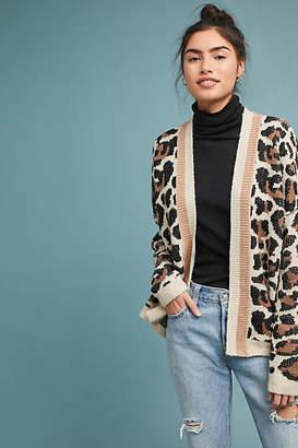 Line & Dot Luella Leopard Cardigan