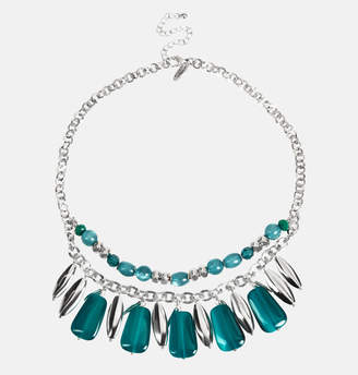Avenue Teal Stone Necklace
