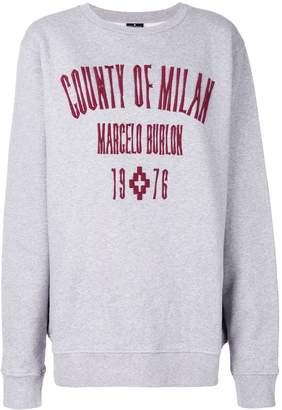 Marcelo Burlon County of Milan Kura Crewneck