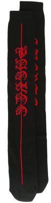 Marcelo Burlon County Of Milan classic socks $74 thestylecure.com