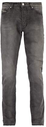 Rhude - Breakaway Slim Leg Jeans - Mens - Black