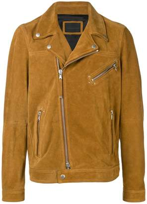 Diesel Black Gold split suede biker jacket