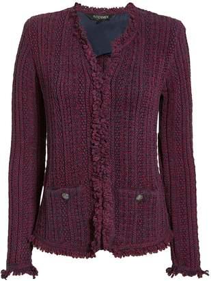 Intermix Ikaterina Two-Tone Knit Jacket