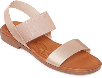 POP Womens Series Slingback Strap Flat Sandals