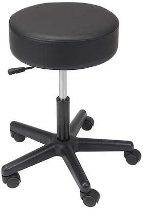 DRIVE MEDICAL Drive Medical Padded Seat Revolving Pneumatic Adjustable Height Stool, Plastic Base
