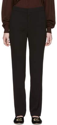 Chloé Black Crepe Trousers