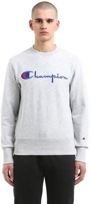 Champion Logo Embroidered French Terry Sweatshirt