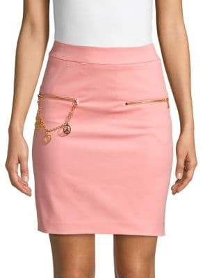 Love Moschino Embellished Skirt