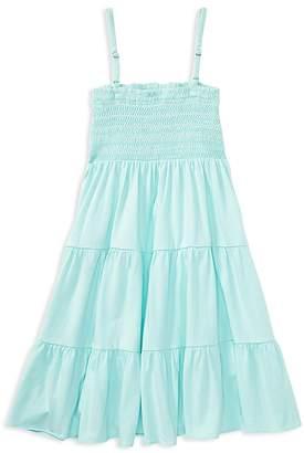 Polo Ralph Lauren Girls' Tiered Smocked Dress - Big Kid