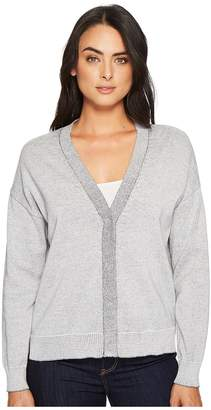 Michael Stars Cotton Knits Reversible Cardigan Women's Sweater