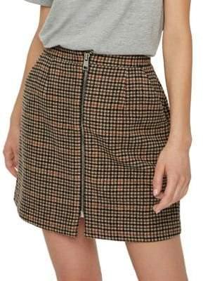 Vero Moda Jana Royal High-Waist Mini Skirt