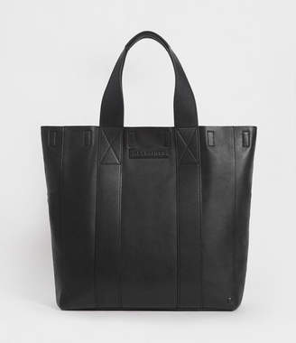 AllSaints Holt Leather Tote Bag