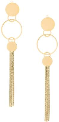 Lanvin long hoop earrings