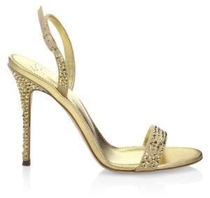 Giuseppe Zanotti Mestico Leather Open Toe Sandals