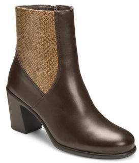 Aerosoles Hole Of Fame Leather Booties