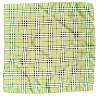 Burberry Nova Check Woven Handkerchief