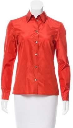Michael Kors Silk Button-Up Top w/ Tags