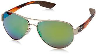 Costa del Mar South Point Polarized Iridium Aviator Sunglasses