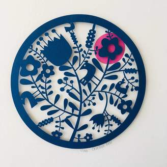 Caroline Rees Flowers Paper Cut