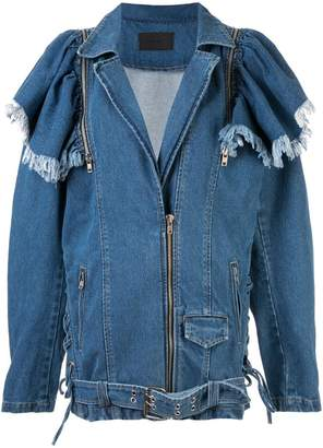 Pony Stone Maggie oversized denim jacket