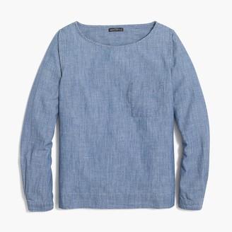 b1aae6dc86e J Crew Popover Shirt - ShopStyle