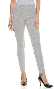 Women's Apt. 9® Millennium Geometric Skinny Dress Pants $48 thestylecure.com