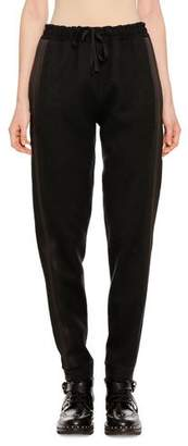 Ermanno Scervino Pull-On Wool-Cashmere Jogger Pants with Side Stripes