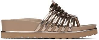 Donald J Pliner CARA, Mirror Metallic Platform Sandal