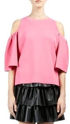 Stella McCartney Knit Cold-Shoulder Top