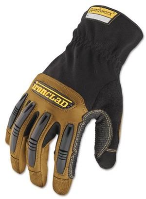 dab97eeb0f3e4 Ironclad Ranchworx Leather Gloves, Black/Tan, X-Large