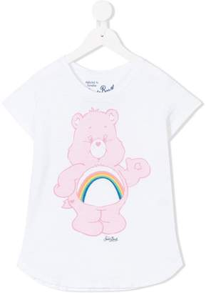 MC2 Saint Barth Kids Cheer Bear print T-shirt