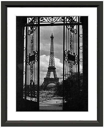 Eiffel Tower Through Gates 18