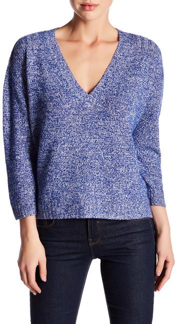 Brochu WalkerBrochu Walker Danika V-Neck Linen Cashmere Blend Sweater