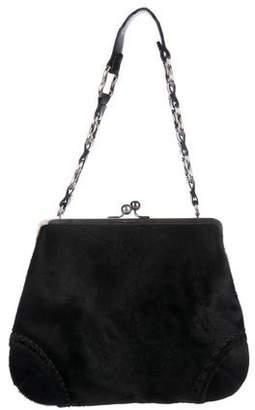 Burberry Ponyhair Frame Bag