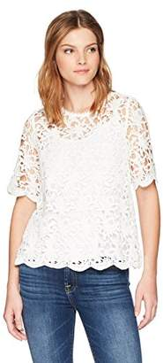 Velvet by Graham & Spencer Women's Kaylee Lace Top