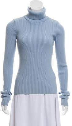 Jacquemus Rib-Knit Turtleneck Sweater