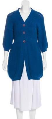 Stella McCartney V-Neck Button-Up Cardigan