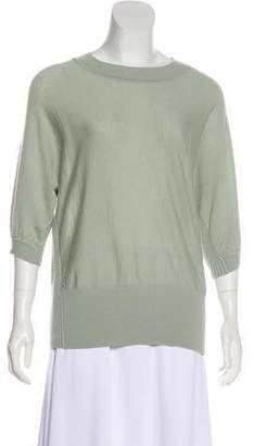 Tory Burch Short Sleeve Wool Top