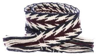 Etoile Isabel Marant Woven Fringe Belt