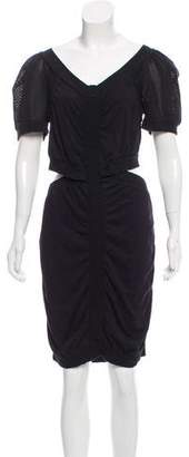 Marc by Marc Jacobs Cut- Out Bodycon Dress